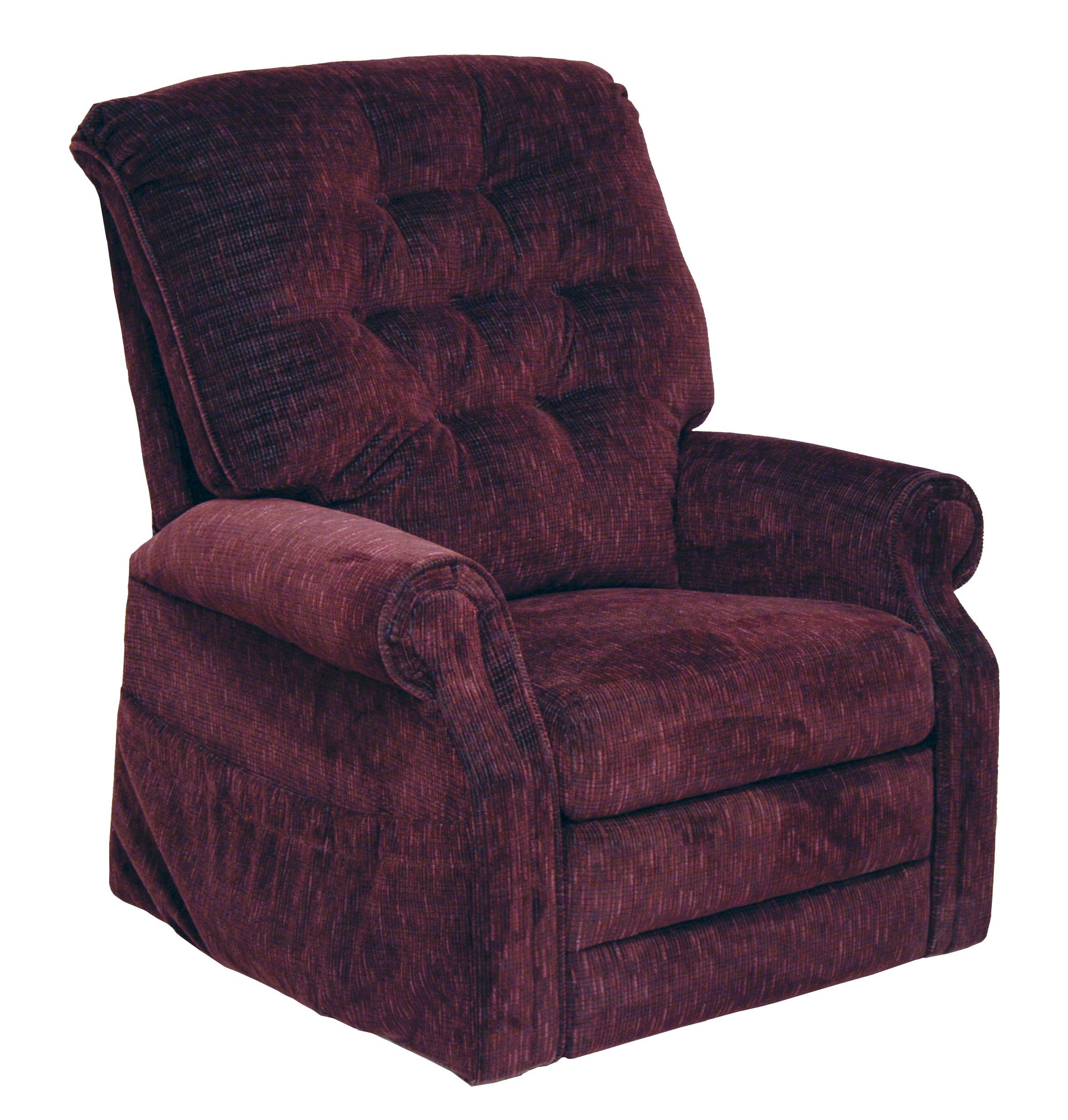 Patriot Pow'r Full Lay-Out Lift Chair Color: Vino