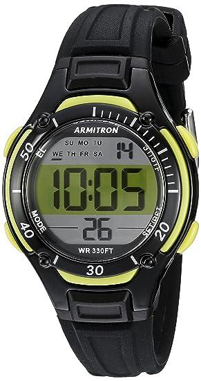 0d11c374ab1c ARMITRON PRO SPORT 457062LGN Reloj Deportivos para Mujer  Amazon.com ...