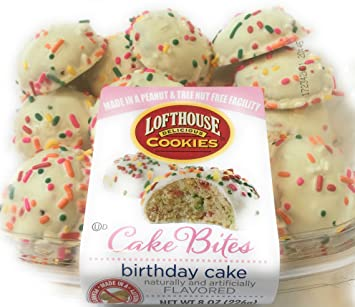 Image Unavailable Not Available For Color Lofthouse Birthday Cake Bites