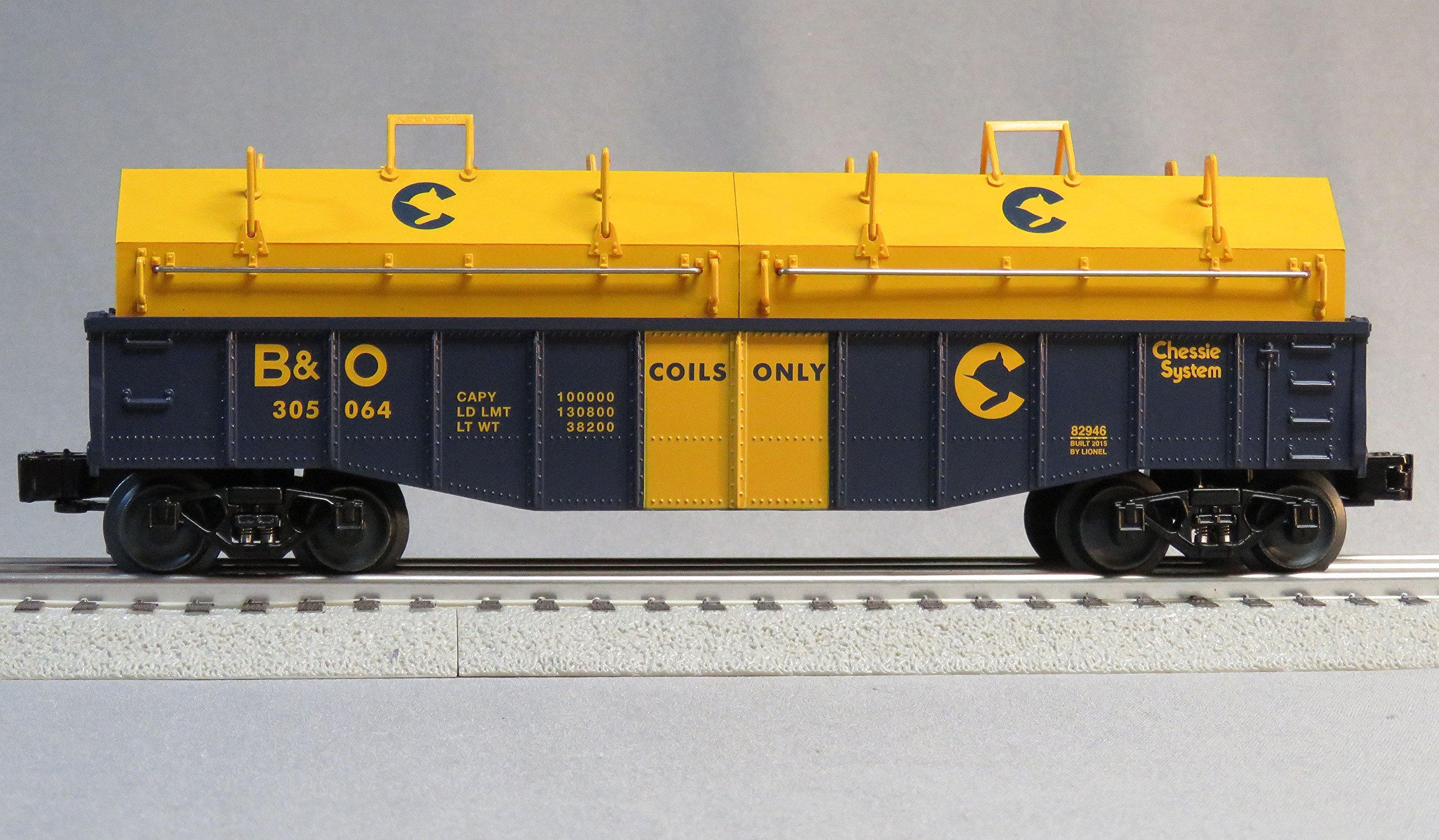 Lionel Chessie Gondola Coil Covers 305064