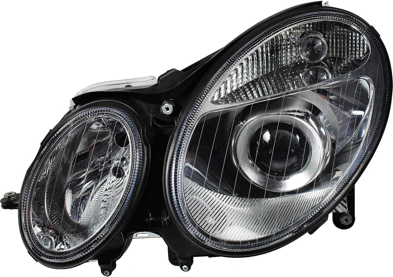 02-06 D2S//H7 mit Motor Bi-Xenon Scheinwerfer Set f/ür W211 E-KL Bj