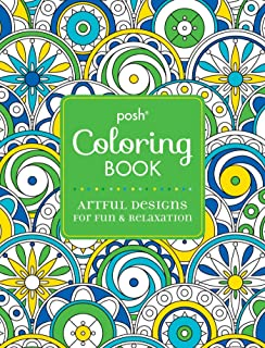 Posh Adult Coloring Book Artful Designs For Fun Relaxation Books