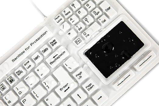 WetKeys Washable Keyboards Teclado higiénico de Calidad ...