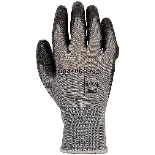 Amazon.com: AmazonBasics Guantes con revestimiento de ...