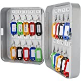 BARSKA CB12482 Key Lock 20 Position Key Cabinet Lock Box Grey