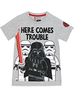 Star Wars Darth Vader Boys T-Shirt With Detachable Cape Age 2-3 Years