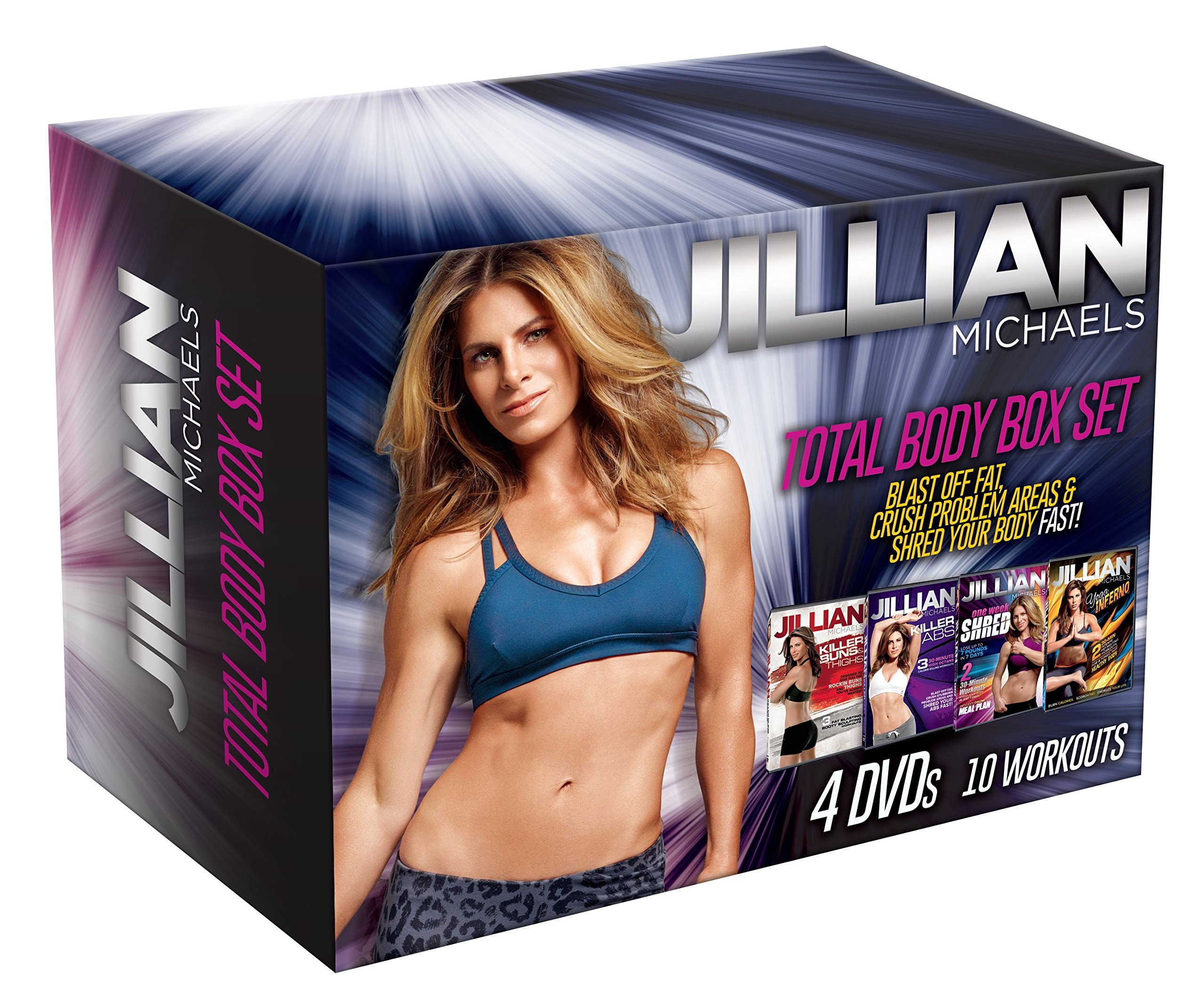 Jillian Michaels Total Body Box Set