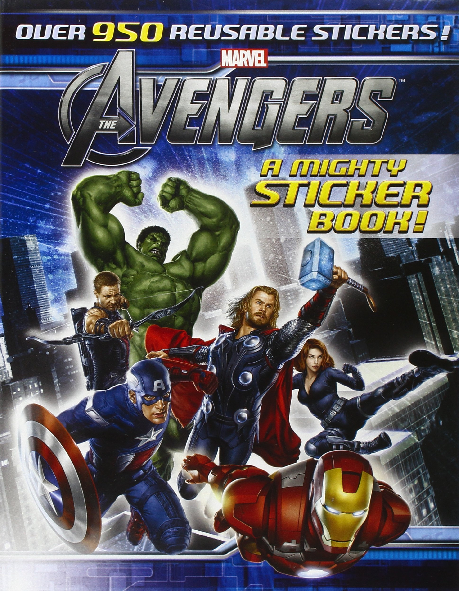 The Avengers: A Mighty Sticker Book (A Sticker-Activity Storybook)