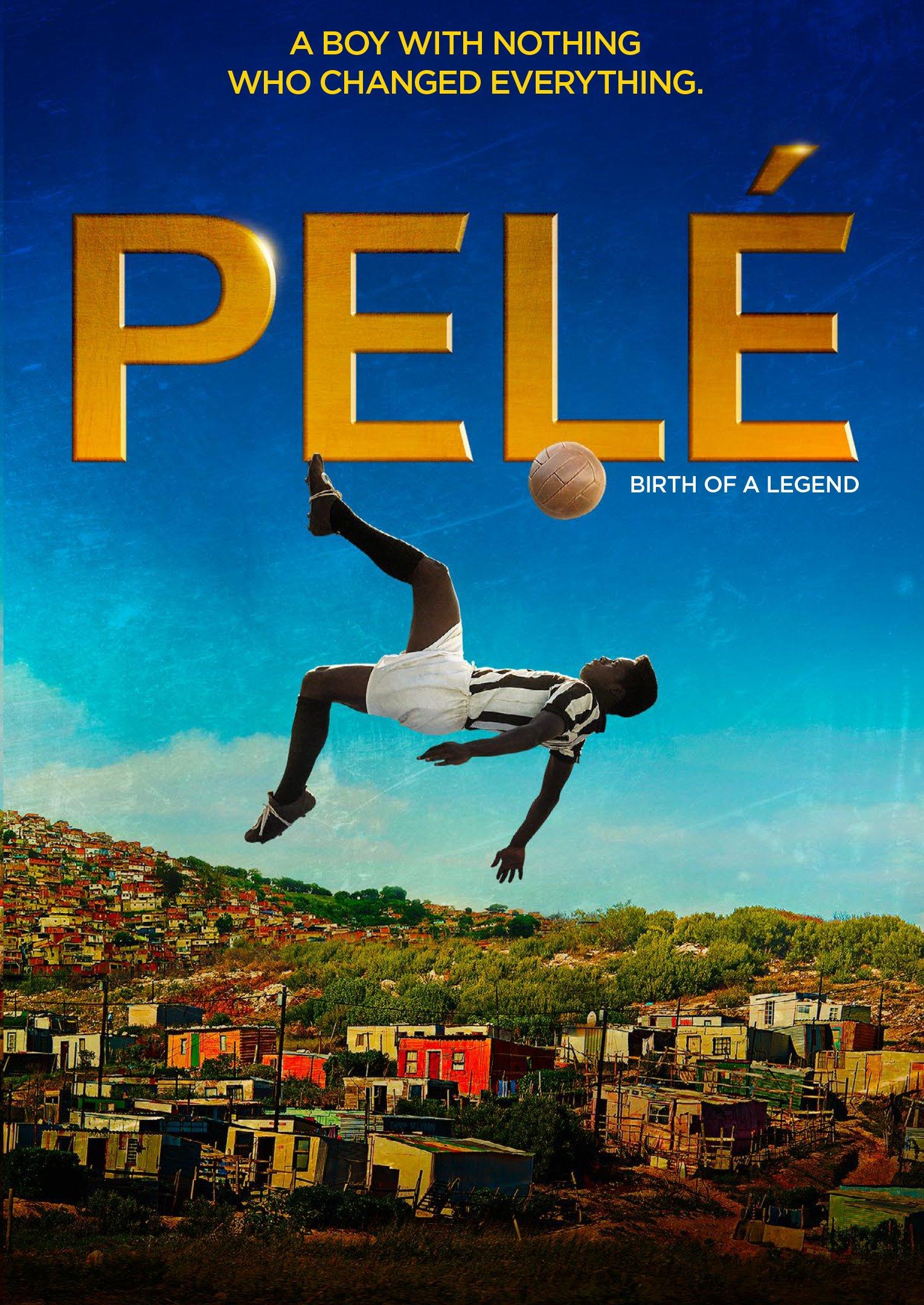 DVD : Pele: Birth of a Legend (DVD)
