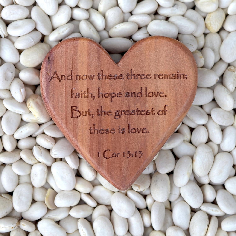 Carry Cross Heart in 1 Corinthians 13:13