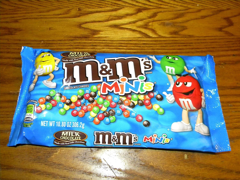 M & M s Chocolate con leche Mini M & M s 10,80 oz: Amazon ...