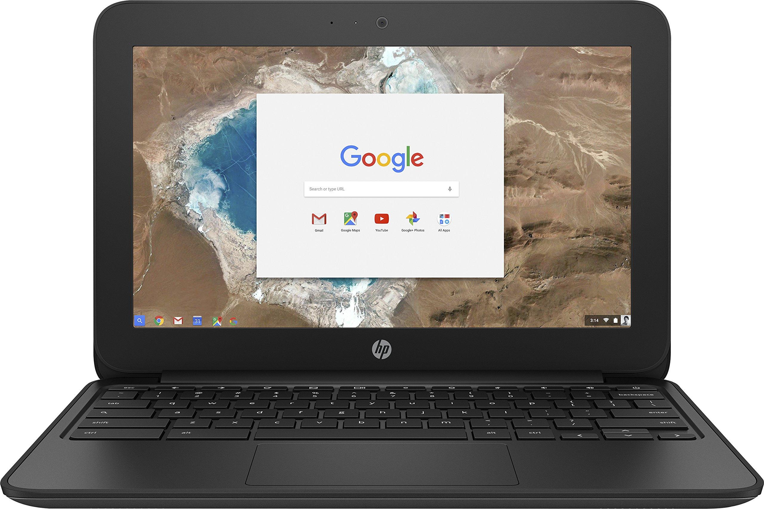 HP G5 11.6 inch HD Chromebook Intel Celeron N3060 (1.60 GHz) 2 GB Ram 16 GB eMMC SSD Chrome OS