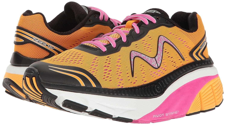 MBT Women's Zee 17 W Sneaker B01MSAOP5R 11 B(M) US|Orange/Pink/Black/White