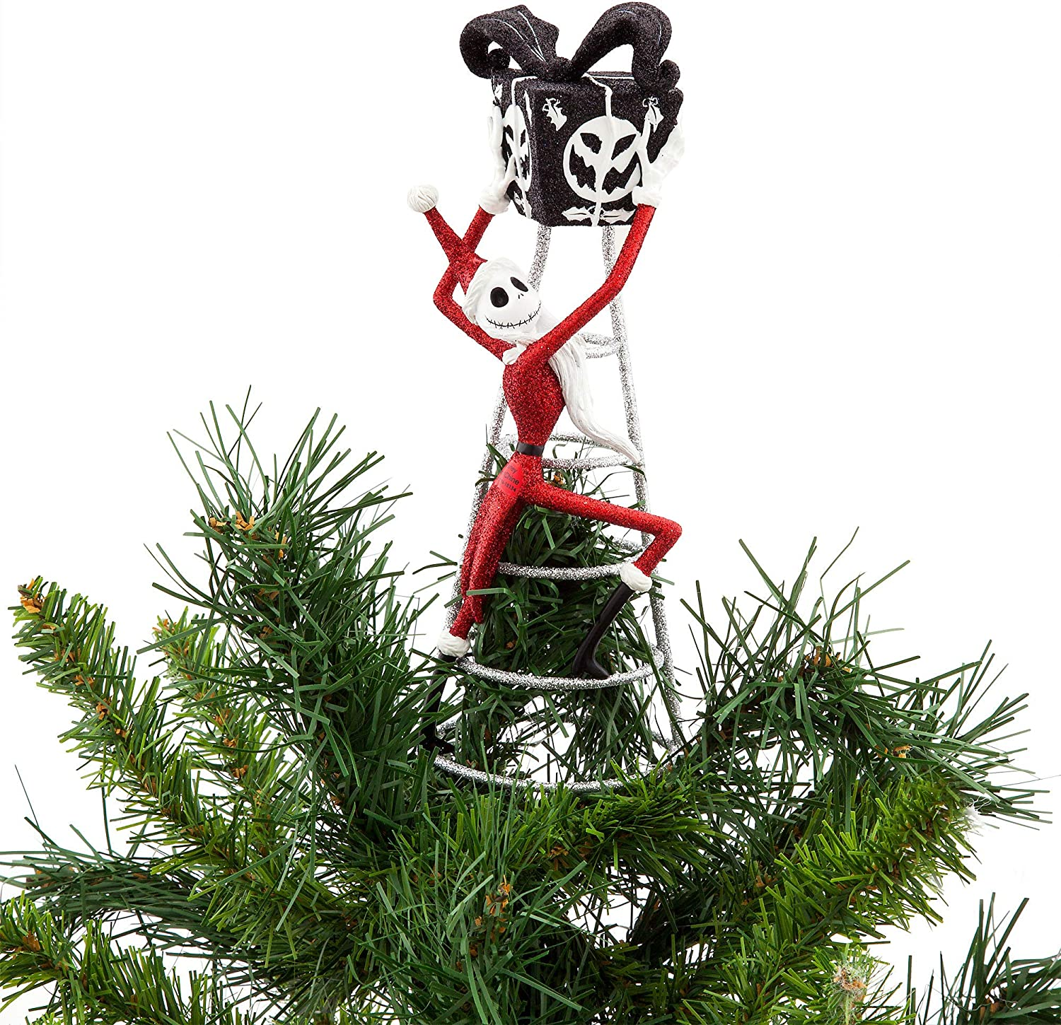 Amazon Com Disney Jack Skellington Tree Topper Nightmare Before Christmas Home Kitchen
