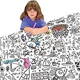 Nappe à colorier pour enfant Thème fête