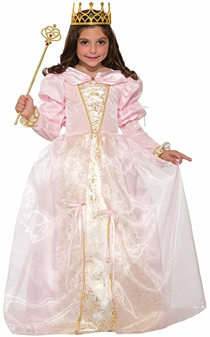 Forum Novelties Girls Tickled Pink Princess Costume, Pink, Medium