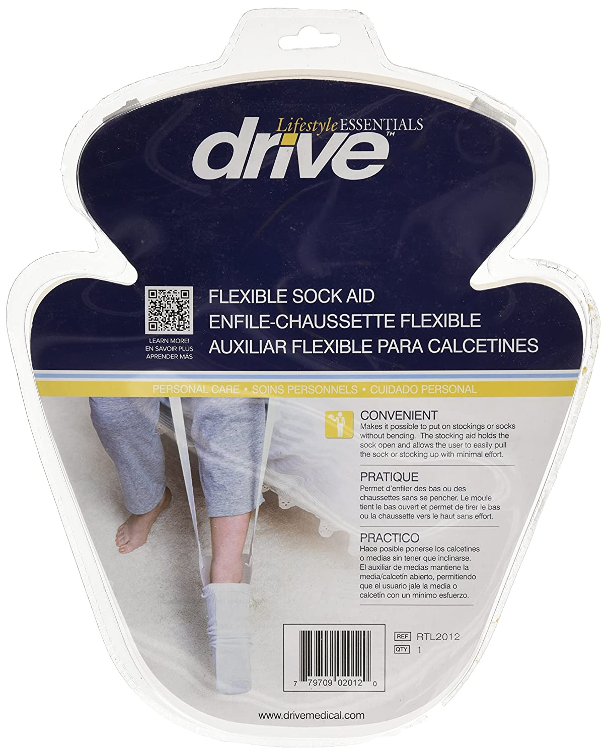 Amazon.com: Drive Medical Stocking Aid, Molded Plastic: Health & Personal Care