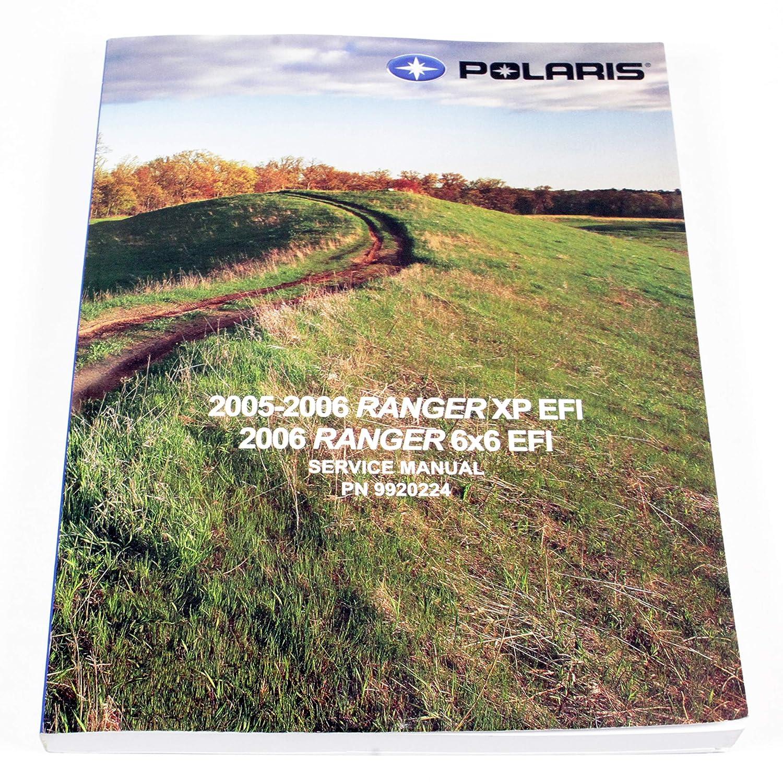 New Oem 2006 Polaris Ranger 700 Xp Efi 4X4 6X6 Service Shop Manual 9920224 Polaris Industries Inc