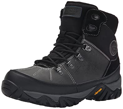 Men'S Hi Tec Black Chocolate Trooper Shield 200 I Wp