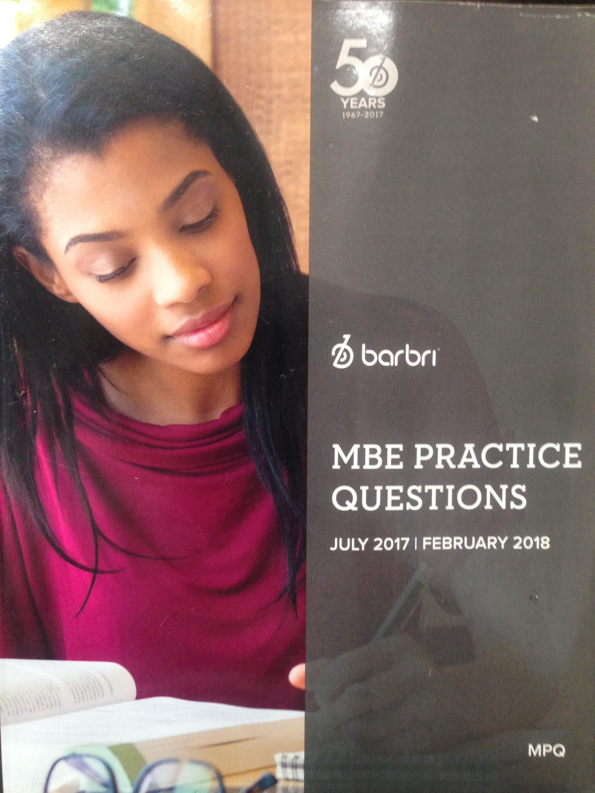 Barbri MBE Practice Questions July 2017-February 2018