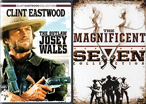 Western Guns Movie Pack DVD 5 Pack: The Magnificent Seven ...
