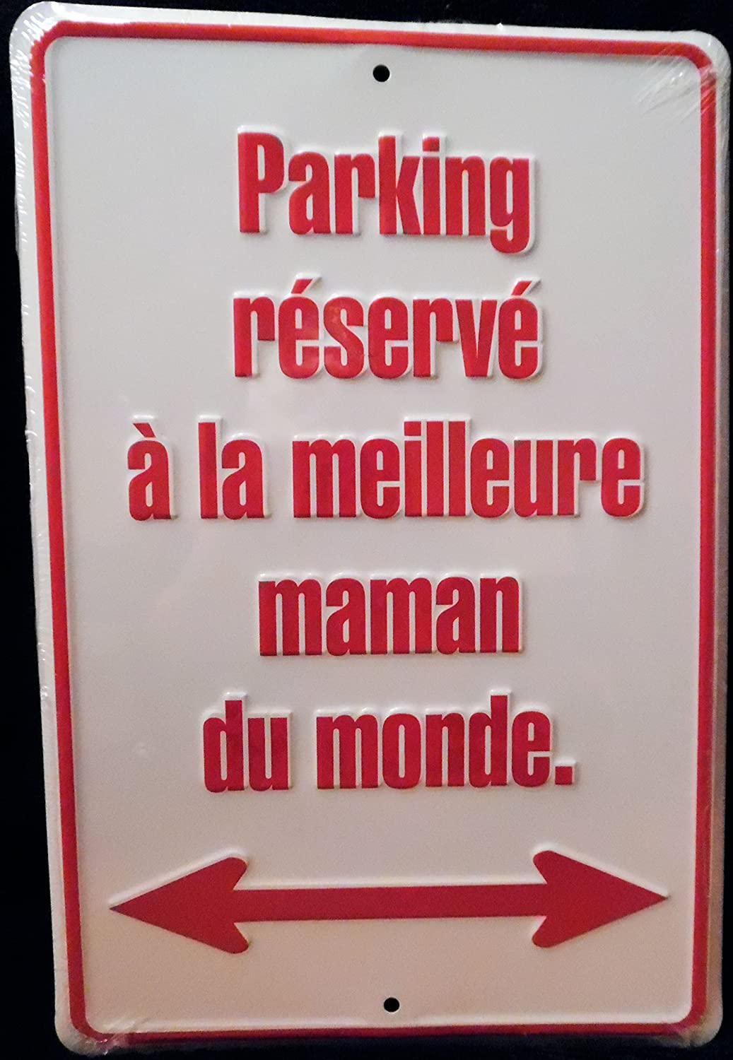 HangTime Worlds Greatest Mom Parking Only French Tag City 5559181876