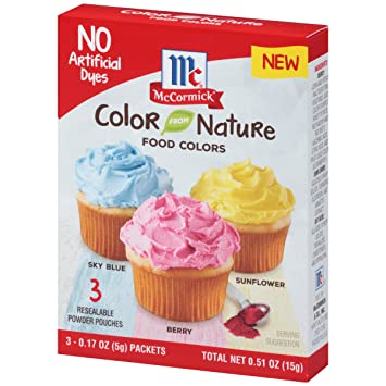 Mccormick Color From Nature 0 51 Oz Amazon Com Grocery Gourmet Food