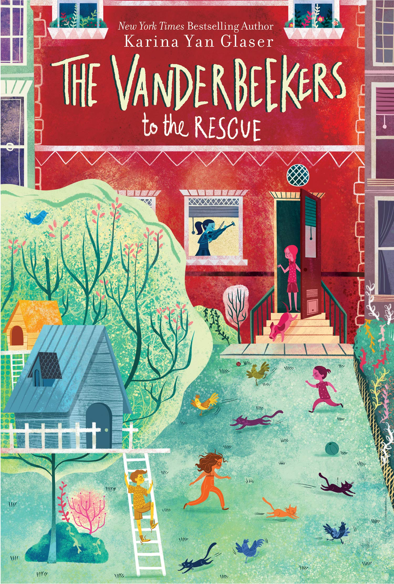 The Vanderbeekers to the Rescue: Yan Glaser, Karina: 9781328577573 ...