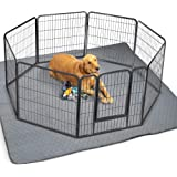 """ZICOTO Waterproof XXL Puppy Whelping Pad 72""""x72"""" - Our Washable Super Absorption Pee Pad is Perfect for Your Exercise Playpen"""