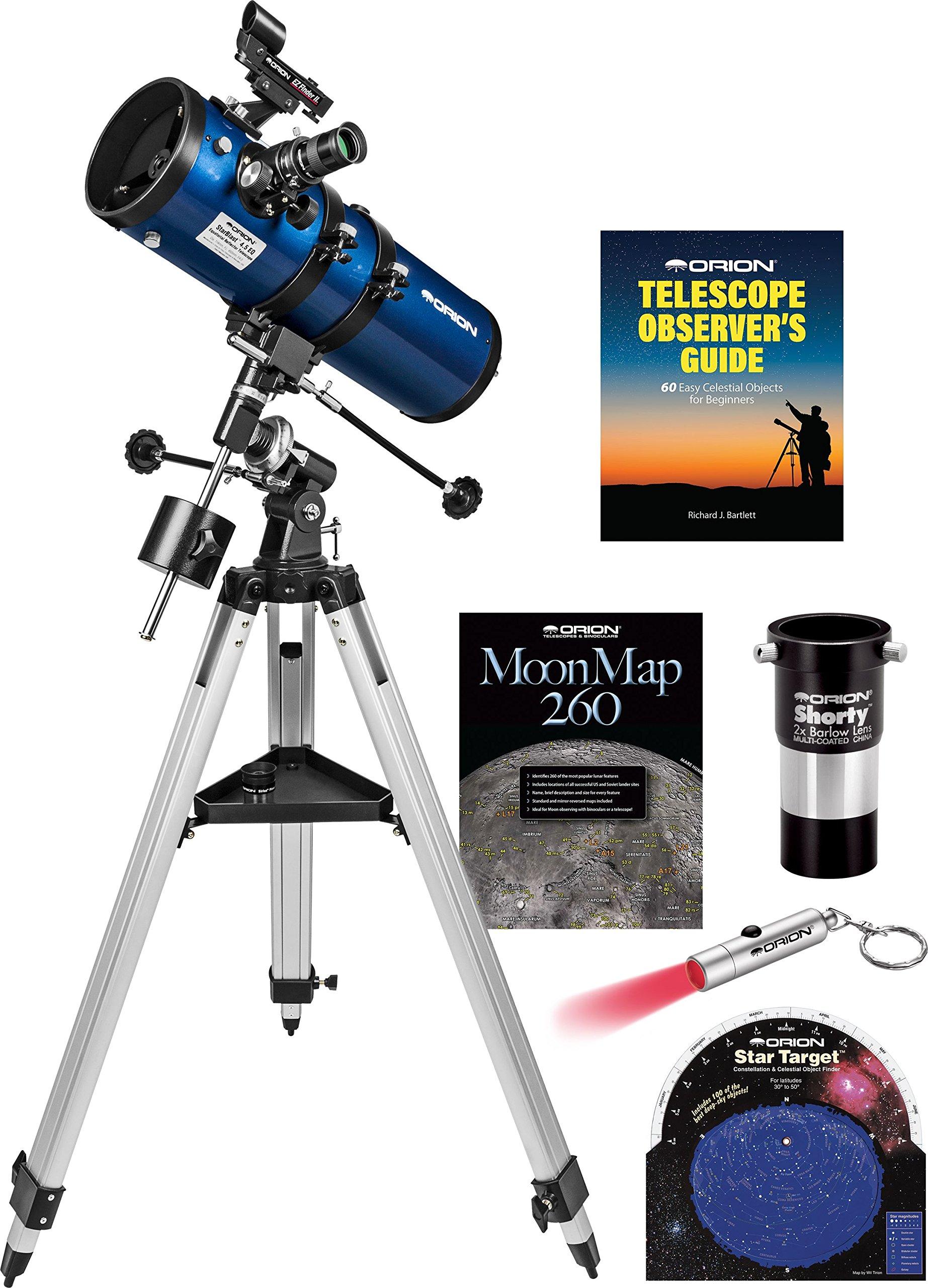 Orion StarBlast II 4.5 EQ Reflector Telescope Kit by Orion