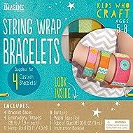 Bendon Imagine Kids Who Craft Stick Bracelets Craft Kit (41011)
