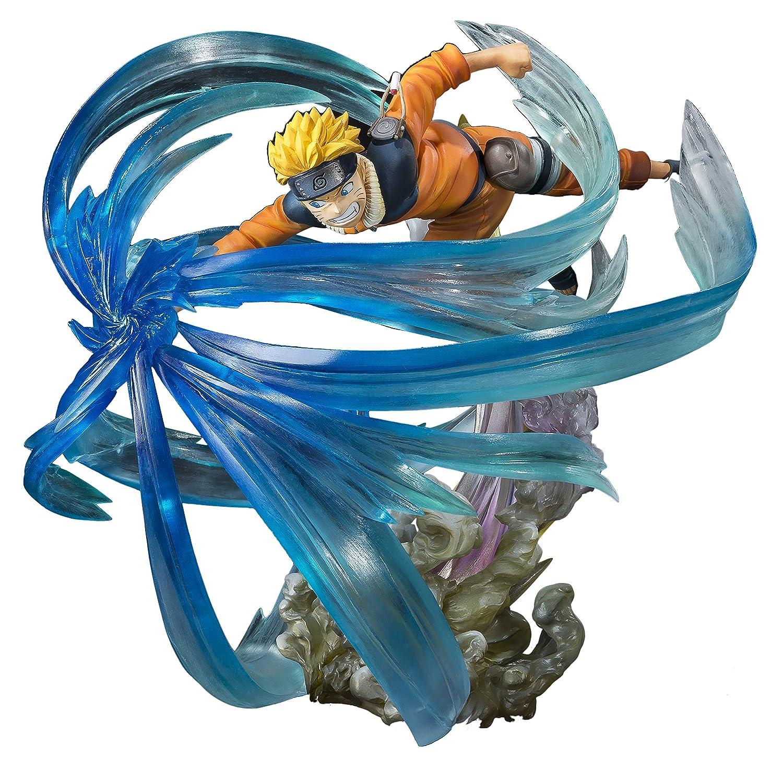 """Bandai Tamashii Nations figuartszero Naruto Uzumaki relación con """"Naruto Estatua"""