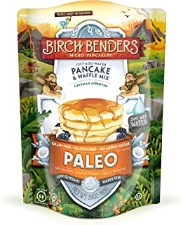 product image for Birch Benders Paleo Pancake & Waffle Mix, Made With Cassava, Coconut & Almond Flour, Just Add Water, 28 Oz