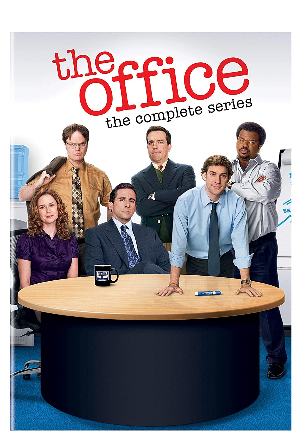 The Office The Complete Series Steve Carell Ed Helms Rainn Wilson John Krasinski B J Novak Jenna Fischer James Spader Craig Robinson Movies Tv