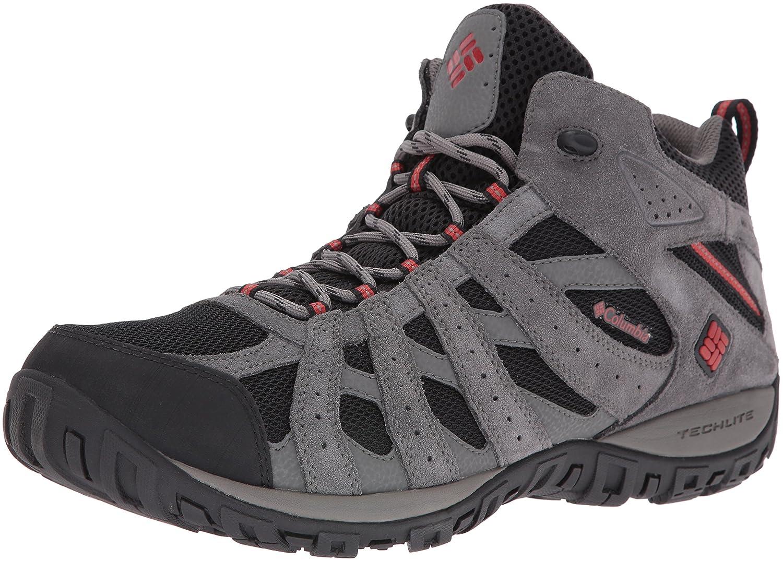 gris (noir Gypsy 010) 50 EU Columbia rougemond Mid, Chaussures de Randonnée Hautes Homme