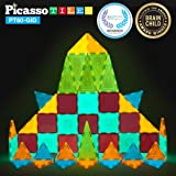 Amazon Com Picassotiles 60 Piece Set 60pcs Magnet