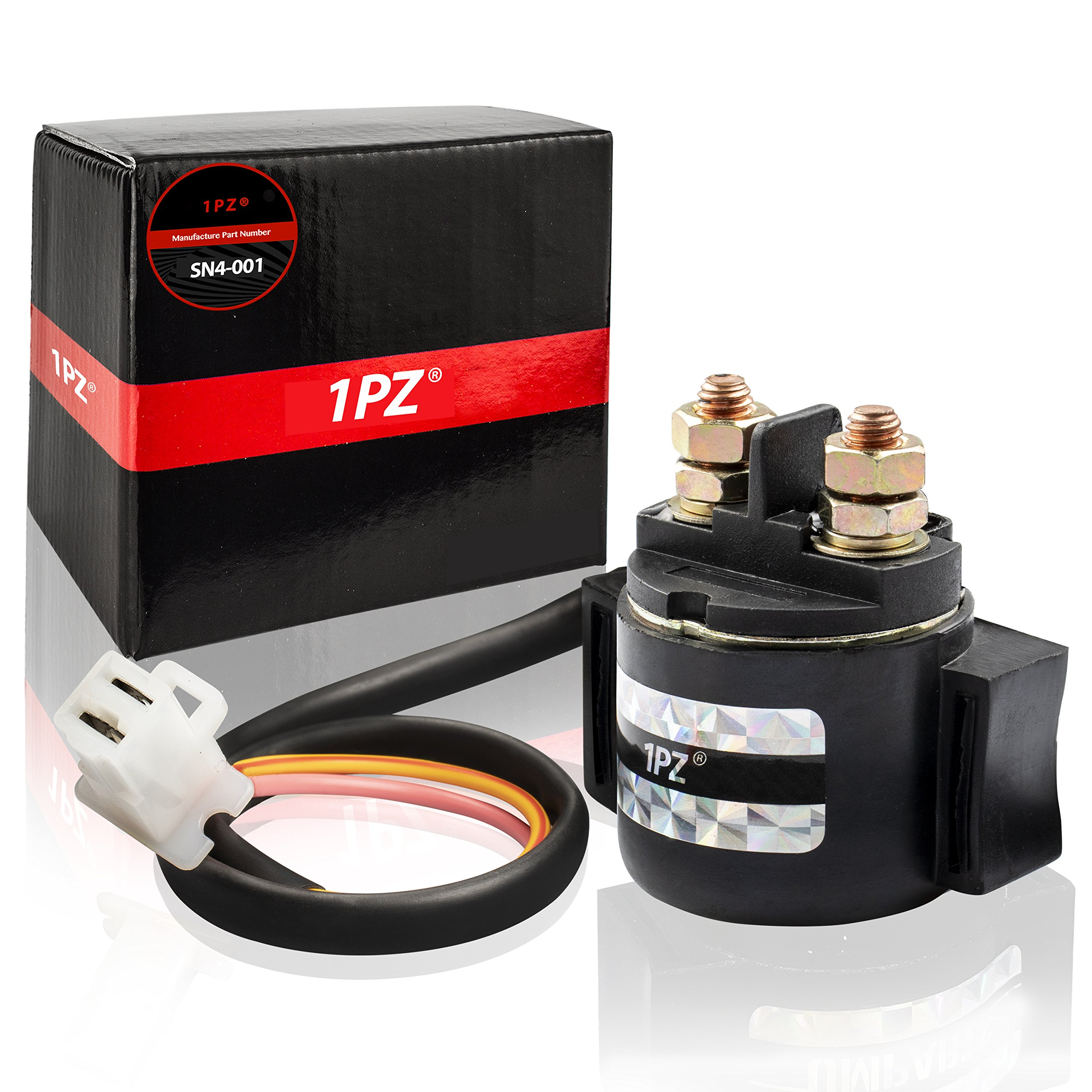 1PZ SN4-001 Starter Solenoid Relay for Honda 300 Fourtrax TRX300 TRX300FW 2X4 4x4 1988 1989 1990 1991 1992 1993 1994 1995 1996 1997 1998 1999 2000 35850-HC4-000