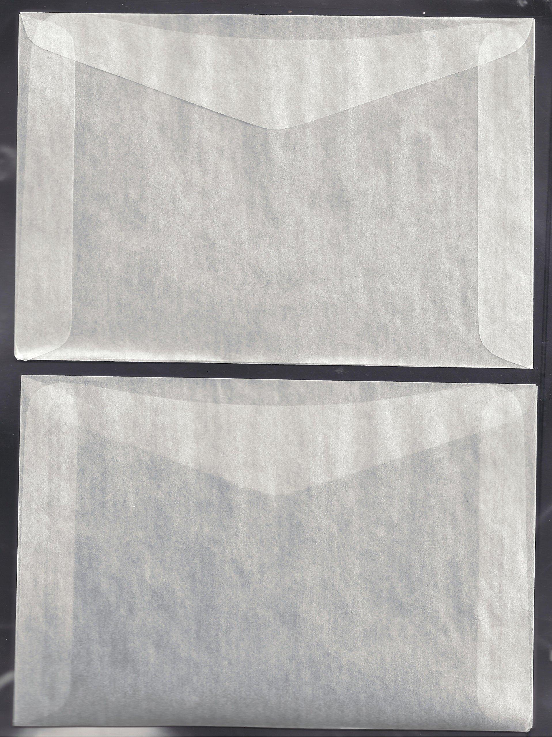 1,000 #8 Glassine Envelopes -- 4 1/2 X 6 5/8 INCHES
