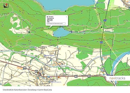 Garmin - Carte topographique de France - Format micro-SD - Topo - 8 Go -  GPS pour vélo, randonnée, promenade, trekking, géocaching et plein air -  Pour