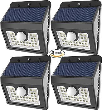 4Pk. Vivii 30 LED Solar Lights
