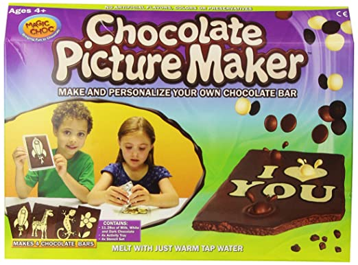 Magic Choc Chocolate Picture Maker (Pack of 4)