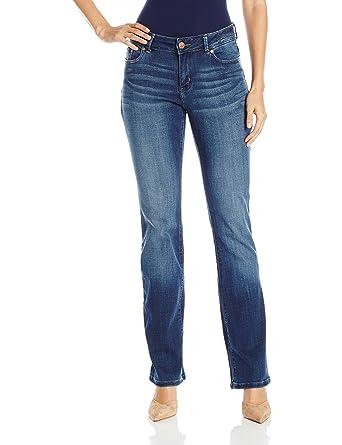 145fe424 LEE Jeans 3406829 Women's Jeans Ms Modern Curvy Adrian Btct, Cascade - 0  Long
