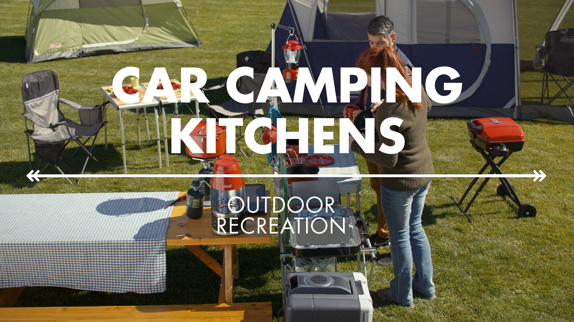 Car Camping Kitchen Gear from Coleman