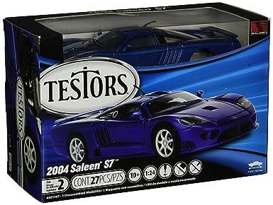 Amazon.com: Testors Saleen S7 coche (escala 1: 24): Toys & Games