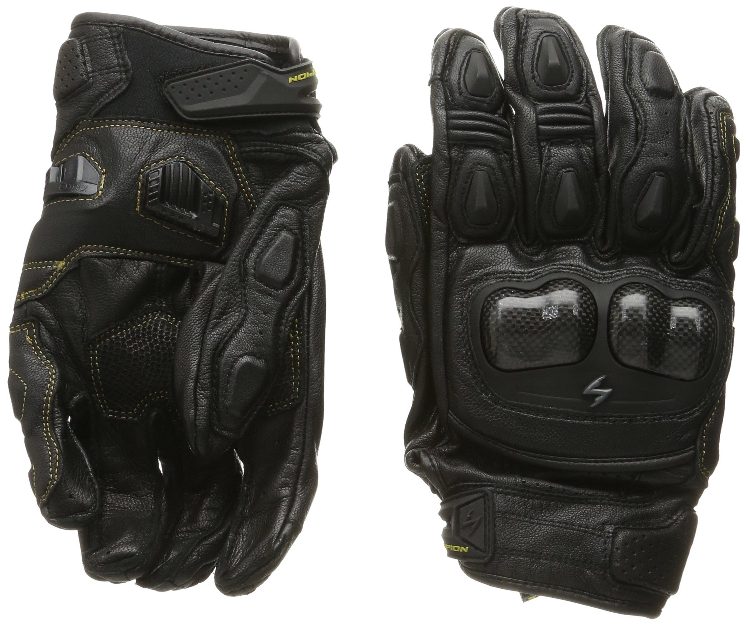 ScorpionExo SGS MKII Men's Short Cuff Sport Gloves (Black, Large)