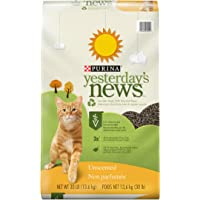 Purina Yesterday's News Unscented Non-Clumping Cat Litter - (1) 30 lb. Bag