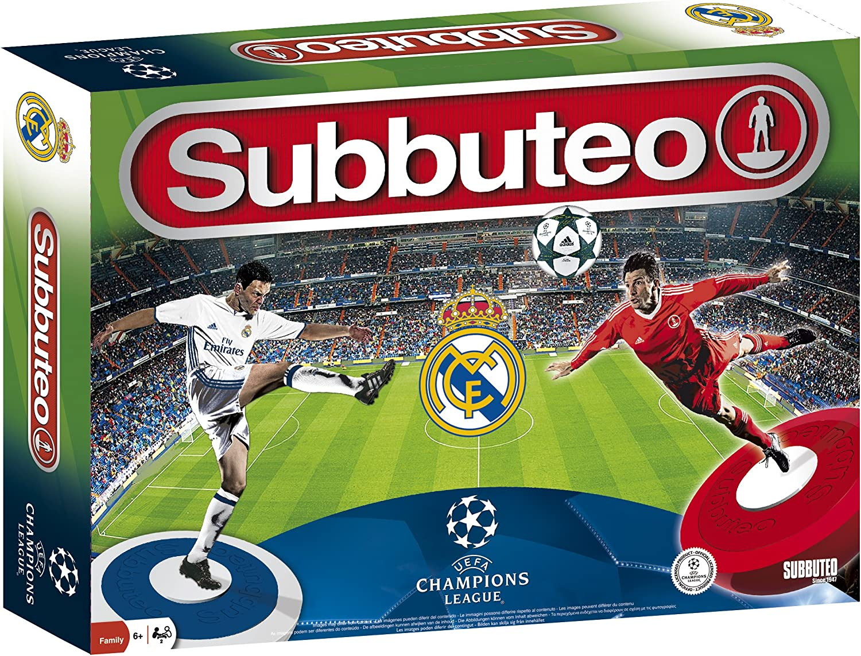 Real Madrid - Juego Subbuteo UEFA Champions League (Eleven Force ...
