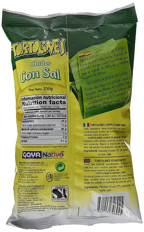 Goya Chifle Sal Tortolines Familiar - Paquete de 12 unidades: Amazon.es: Alimentación y bebidas
