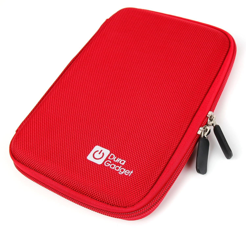 DURAGADGET Funda Rígida Roja para Los GPS Tomtom Go 610 | 6100 Guardar Su GPS!: Amazon.es: Electrónica