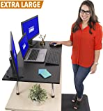 "Stand Steady Mega and Original Standing Desk - Stand Up Desk Topper (Mega (39.5"" x 22""))"